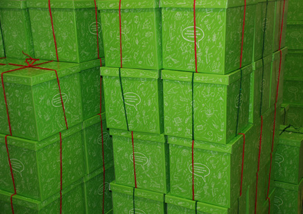 green christmas box